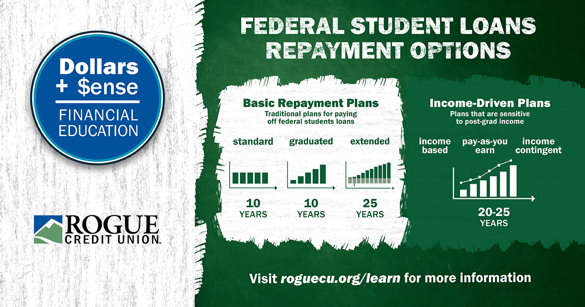 Standard repayment vs income driven repayment for student loans.