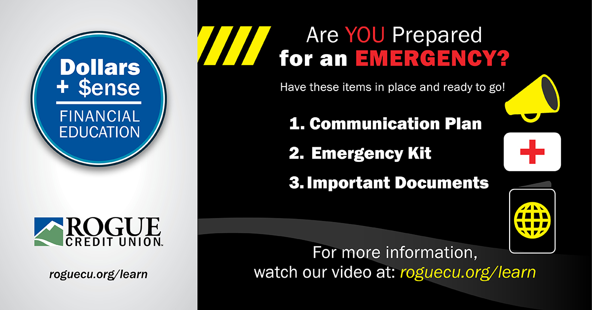 Are you prepared for an emergency?