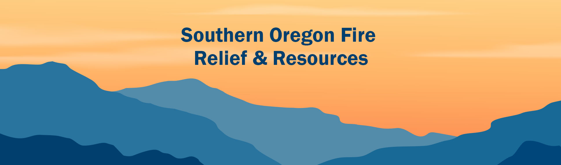 Southern Oregon Fire Relief