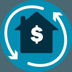 home refinance icon