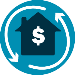 home refinance icon