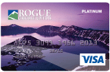 Platinum crater lake card design