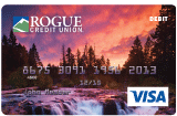 rogue river sunset debit card design