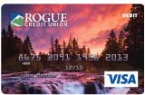 rogue river sunset debit card design