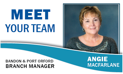 Meet Your Team: Angie Macfarlane Bandon and Port Orford Branch Manager
