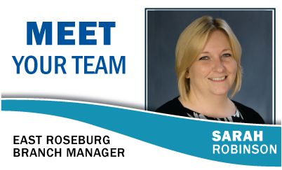 Meet Your Team: Sarah Robinson East Roseburg Branch Manager