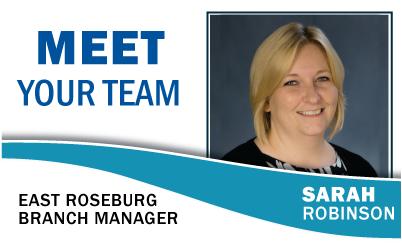 Meet Your Team: Sarah Robinson East Roseburg Branch Manager