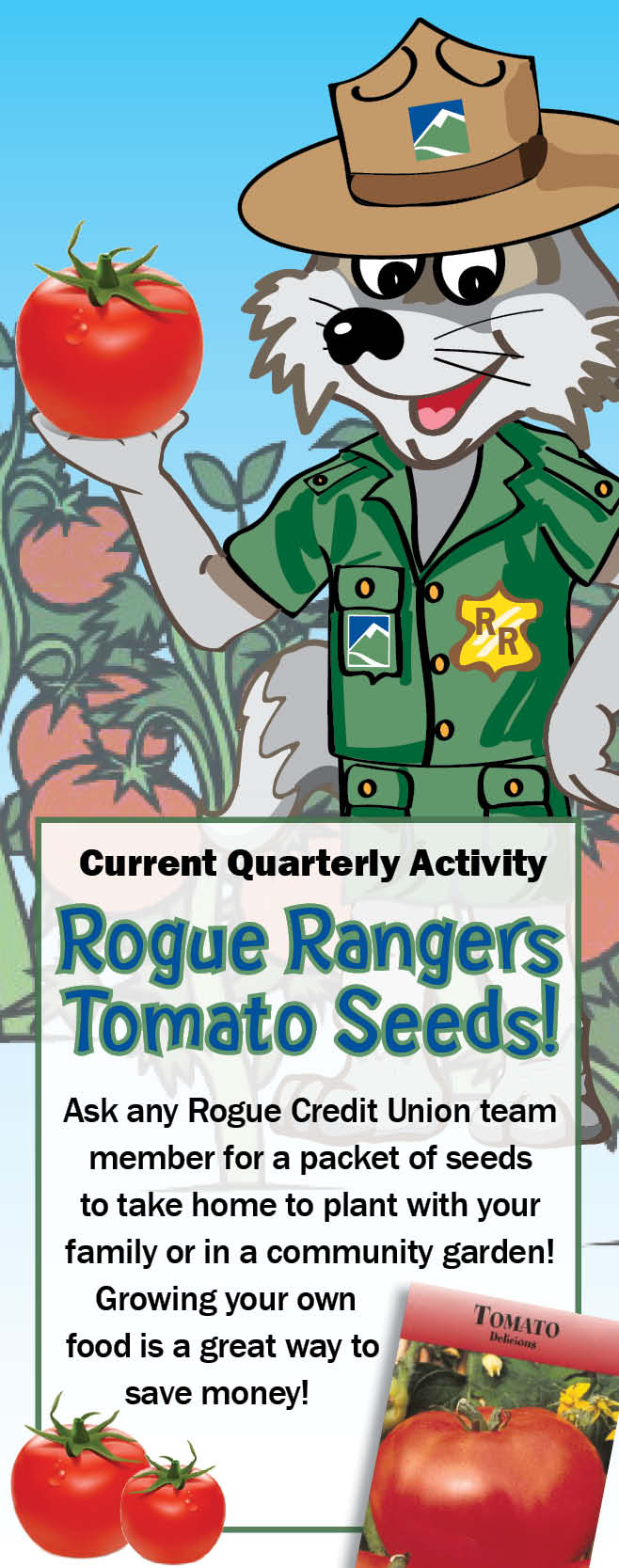 Rogue Ranger Tomato Seeds